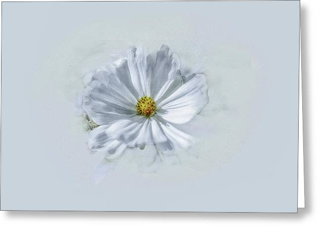 Artistic White #g1 Greeting Card