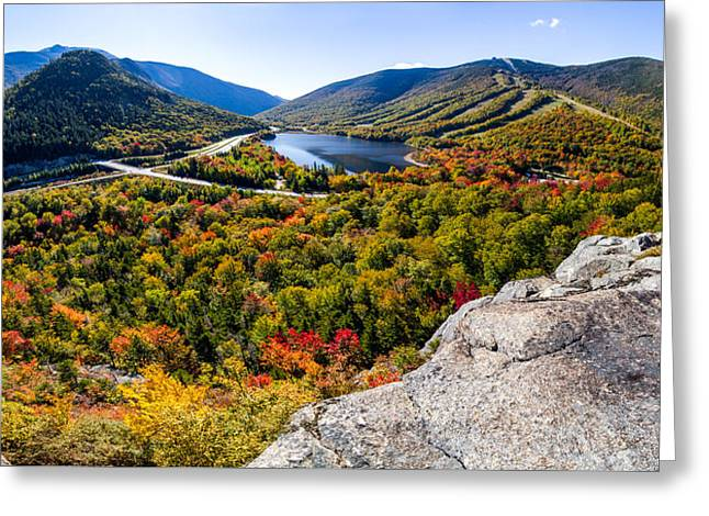 Artists Bluff, Franconia Notch Greeting Card