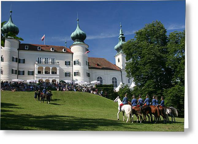 Artstetten Castle In June Greeting Card