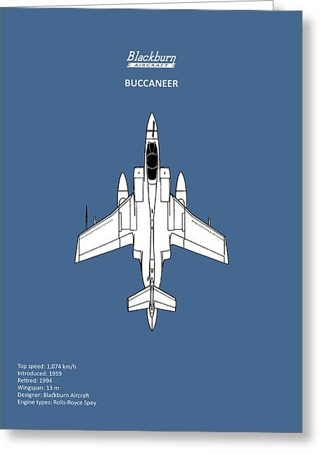 The Buccaneer Greeting Card by Mark Rogan