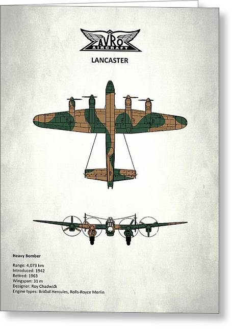 The Lancaster Greeting Card by Mark Rogan