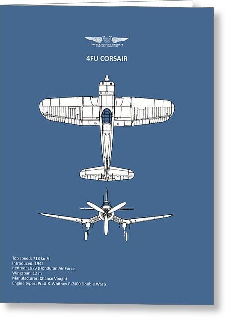 The Corsair Greeting Card by Mark Rogan