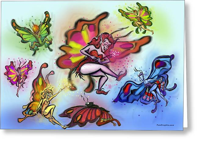Faeries Greeting Card