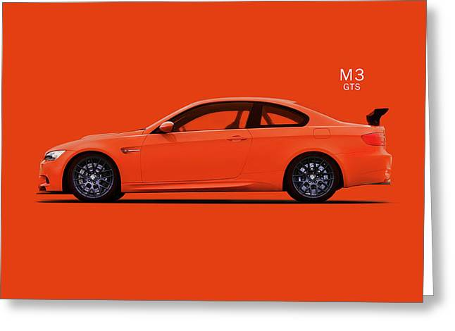 The Bmw M3 Gts Greeting Card