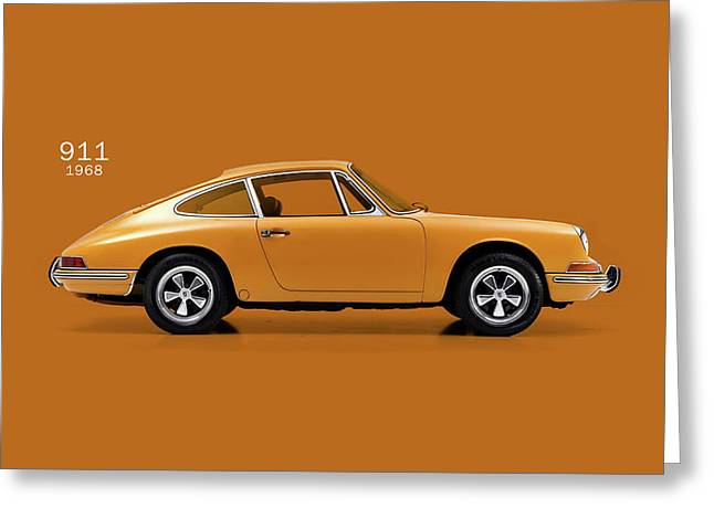 The 911 1968 Greeting Card