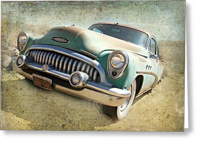 Randsburg Buick Greeting Card