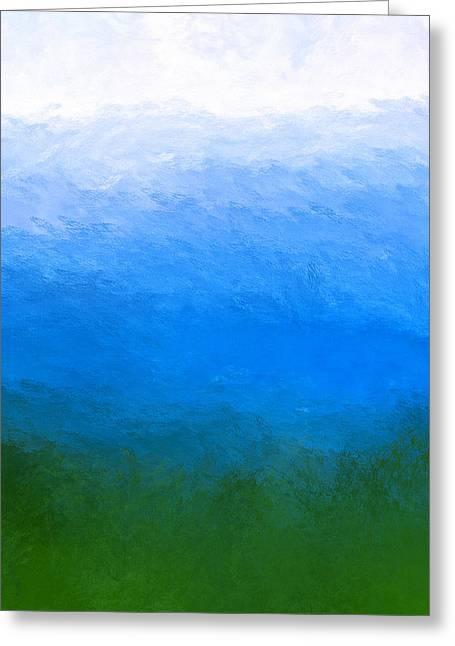 The Sea Is Deep Greeting Card