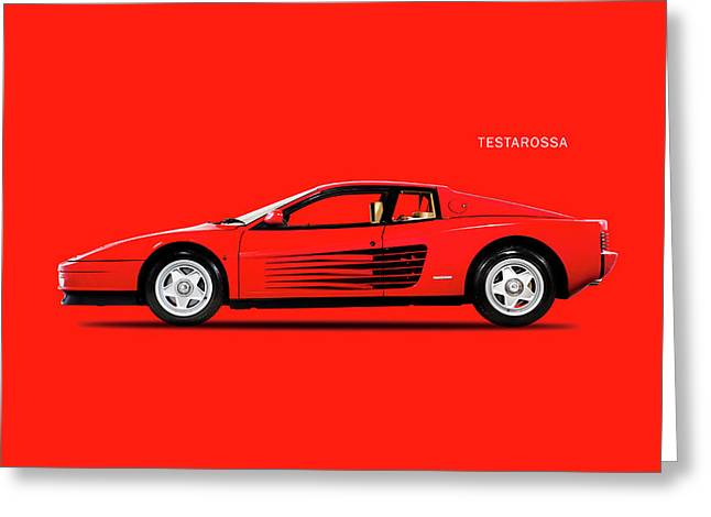 The Testarossa Greeting Card by Mark Rogan