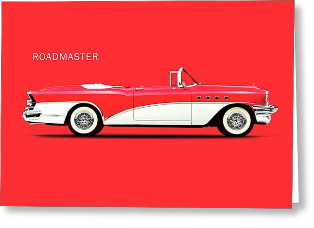 Buick Roadmaster 55 Greeting Card