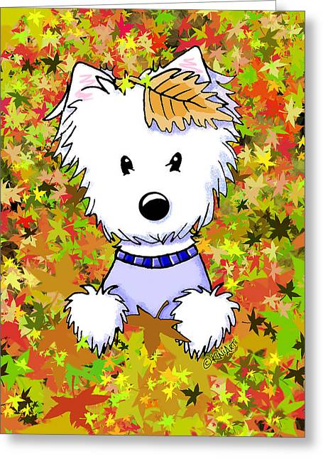 Autumn Jewel Greeting Card
