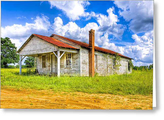 Crossroad Store - Rural Georgia Landscape Greeting Card by Mark Tisdale