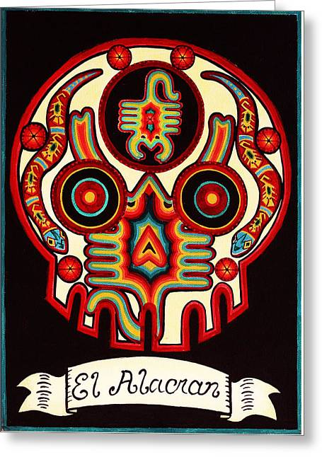 El Alacran - The Scorpion Greeting Card