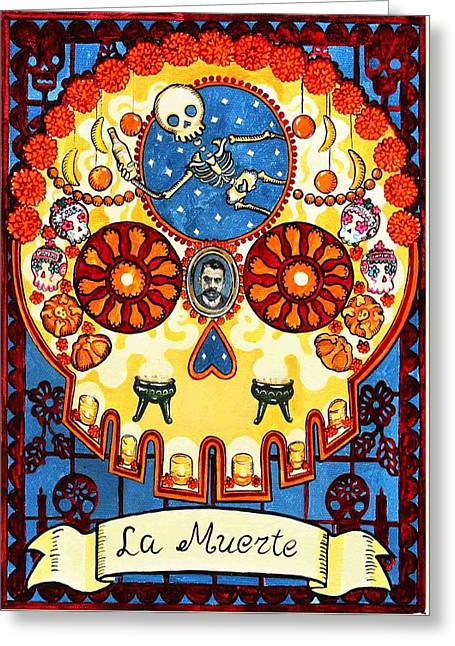 La Muerte - Death Greeting Card