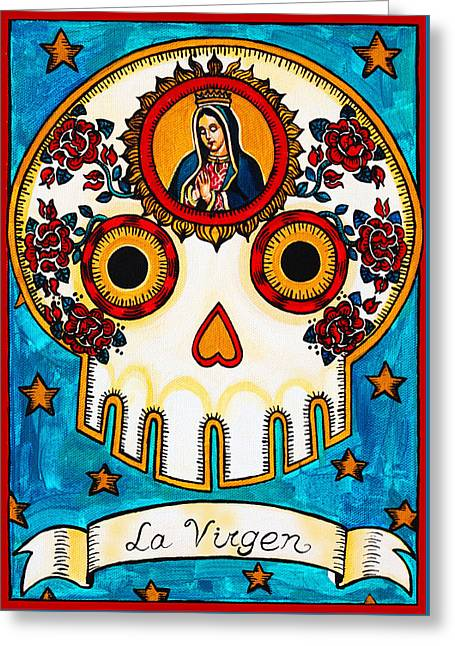La Virgen - The Virgin Greeting Card