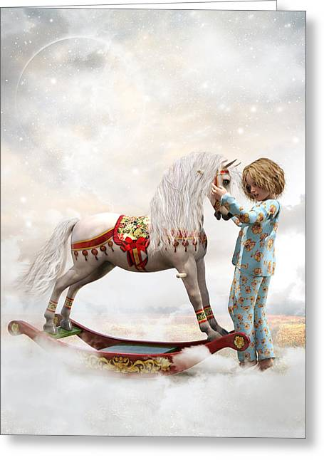If We Believe Greeting Card by Shanina Conway