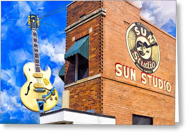 Legendary Home Of Rock N Roll Greeting Card