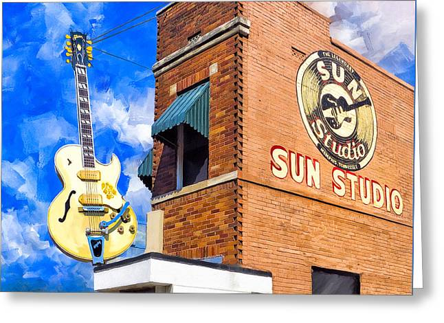 Legendary Home Of Rock N Roll Greeting Card by Mark Tisdale