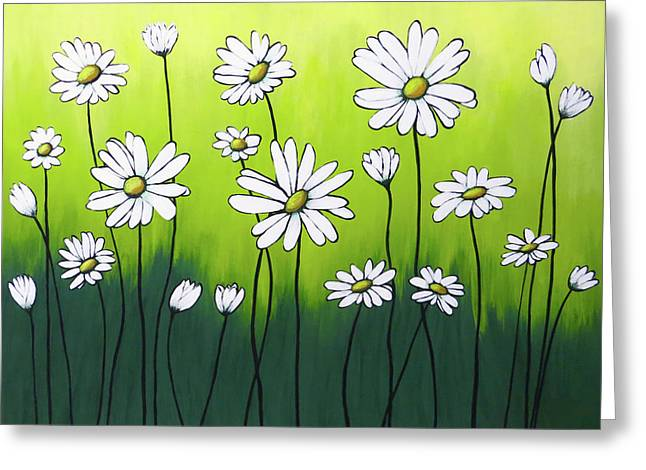 Daisy Crazy Greeting Card