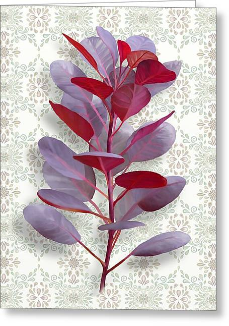 Royal Purple Greeting Card
