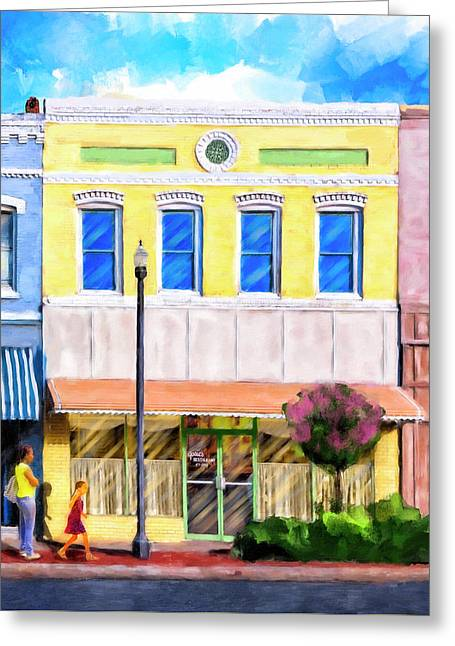 Taste Of Home - Josie's Restaurant Greeting Card by Mark Tisdale
