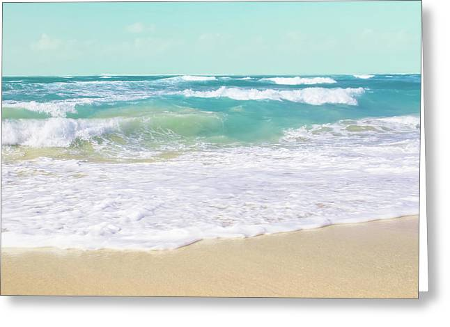 Greeting Card featuring the photograph The Ocean by Sharon Mau