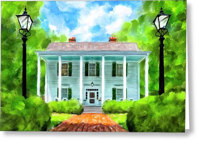 Old Homestead - Smith Plantation - Roswell Georgia Greeting Card