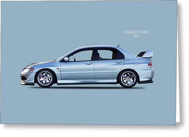 The Lancer Evolution Viii Greeting Card by Mark Rogan