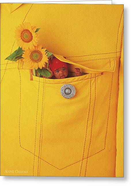 Small Change Greeting Card by Anne Geddes