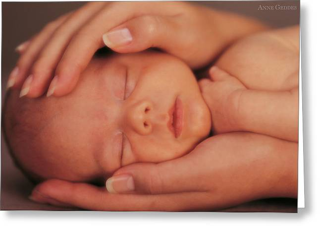 Corrine And Charlie Greeting Card by Anne Geddes