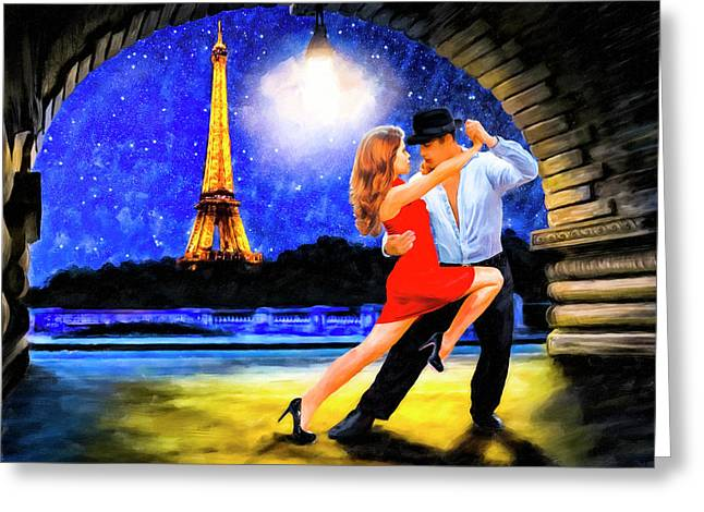 Last Tango In Paris Greeting Card by Mark Tisdale