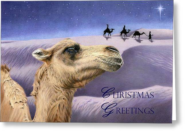 Holy Night- Christmas Greetings Cards Greeting Card