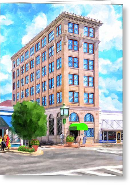 Timmerman Building - Andalusia - First National Bank Greeting Card