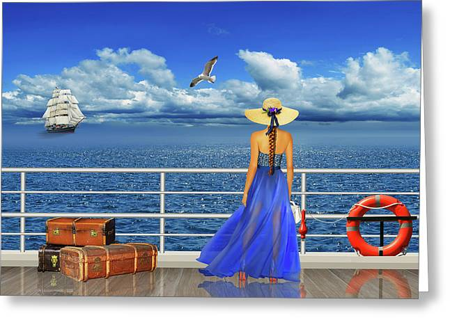 The Cruise Greeting Card