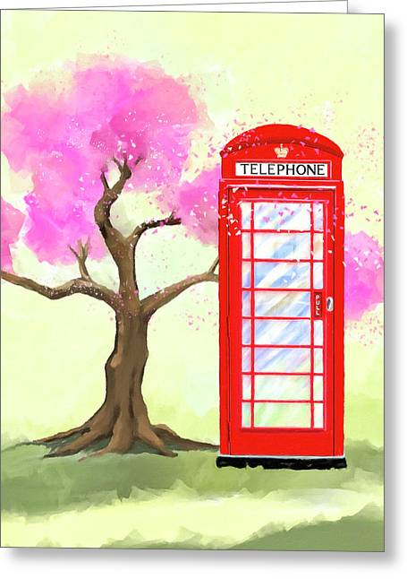 The Great British Spring Greeting Card by Mark Tisdale