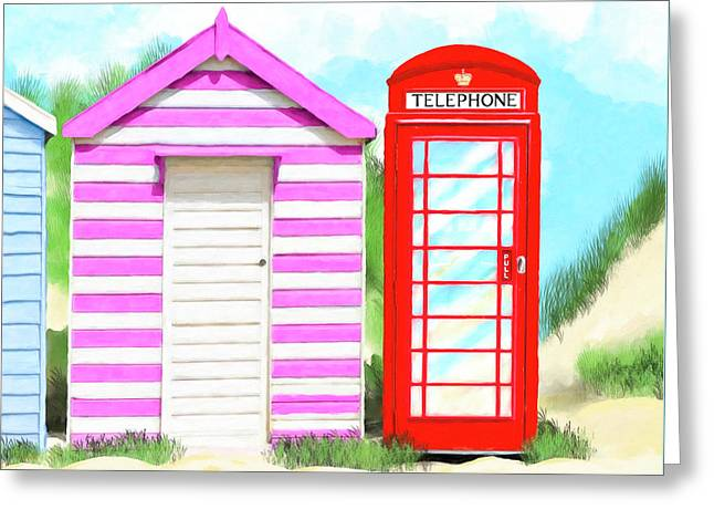 The Great British Summer Greeting Card by Mark Tisdale
