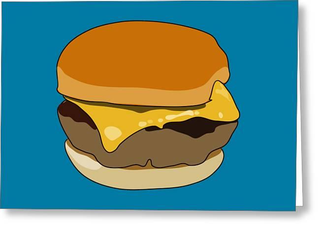 Cheeseburger Greeting Card