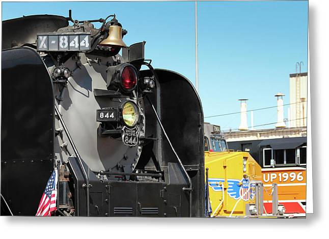 Up 844 With Friends Greeting Card