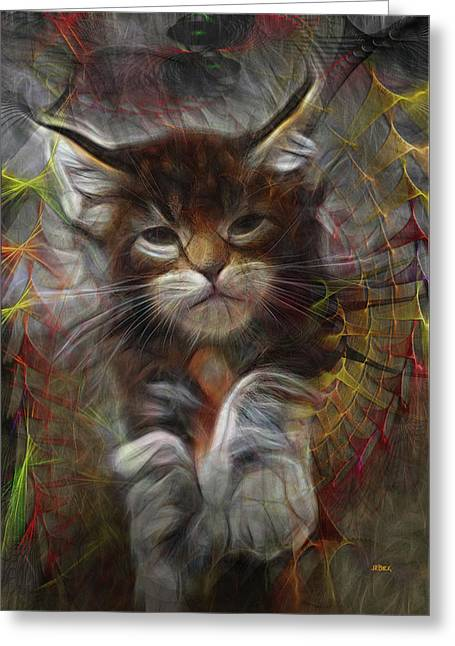Catatude Greeting Card