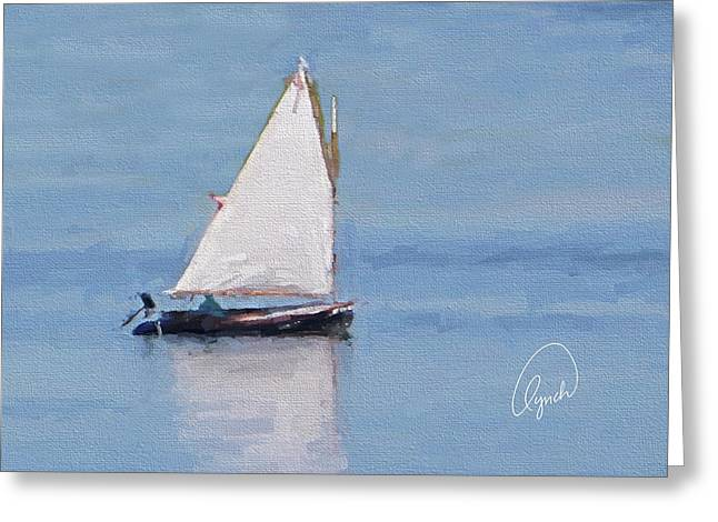 Sonny's Sailboat Signed Greeting Card