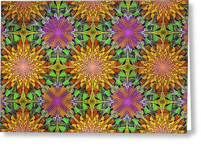 Marigolds And Asters Greeting Card