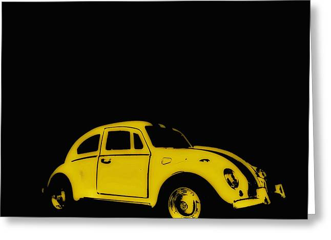 Yellow Bug Greeting Card