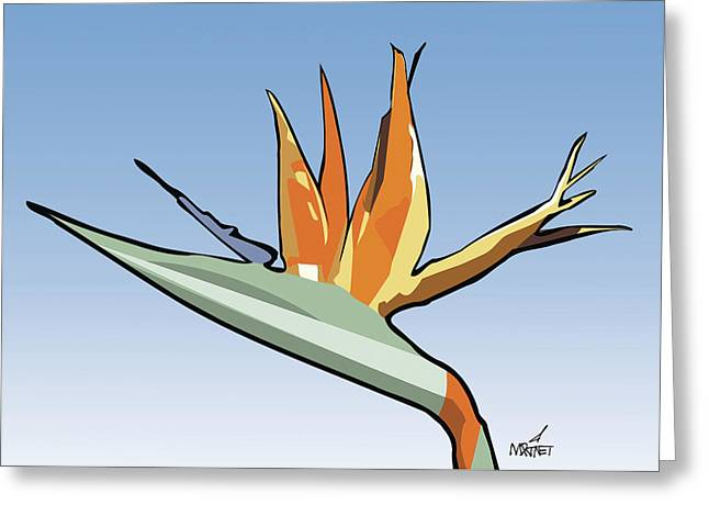 Bird Of Paradise Greeting Card