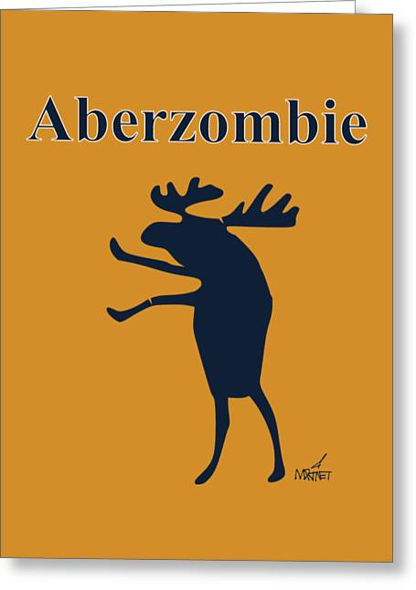 Aberzombie Greeting Card