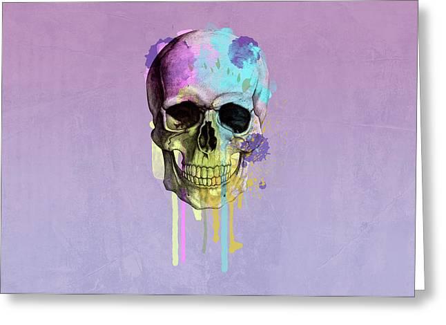 Skull 6 Greeting Card