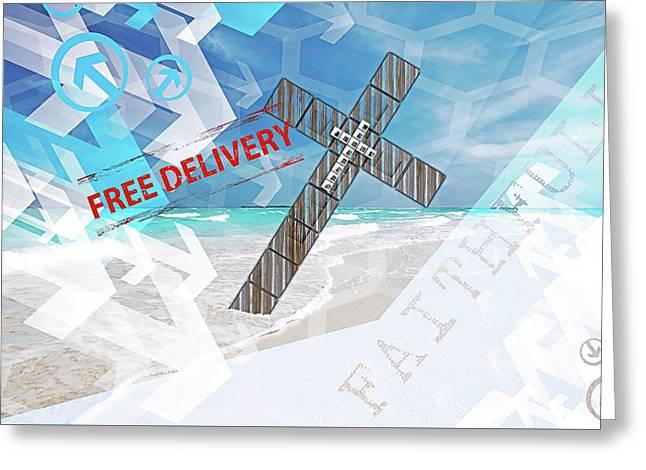 Faithfully Greeting Card
