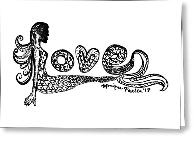 Mermaid Love Greeting Card
