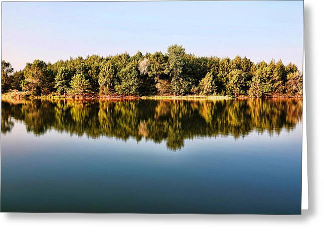 When Nature Reflects Greeting Card