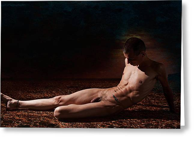 Greeting Card featuring the photograph Arty Dark Earth 1 by Michael Taggart