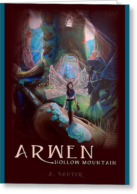 Arwen Hollow Mountain Book Cover Greeting Card