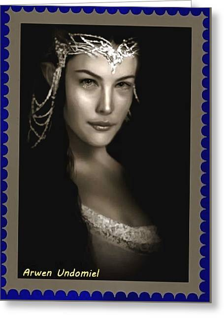 Arwen Undomiel Greeting Card